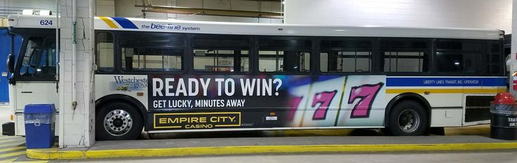 Gateway Outdoor Advertising Bee-Line Bus System - Empire Kong Bus Ad