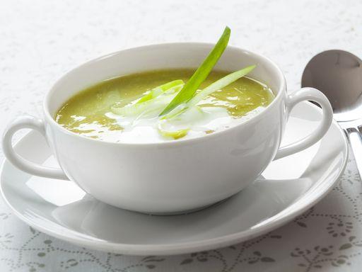 La soupe de poireaux au citron et curry doux : Recette de La soupe de poireaux au citron et curry doux - Marmiton