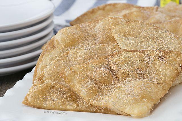 Tortilla+kaneli+sokeri