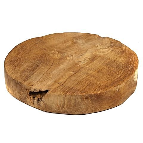 $30 zanui -Teakwood Chopping Board round 30cm
