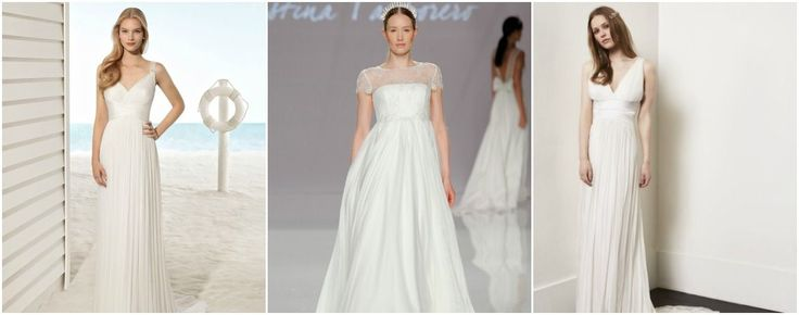 Los vestido de novia corte imperio 2018 te encantarán. Conoce cuáles son las tendencias para una novia que quiere lucir espectacular.
