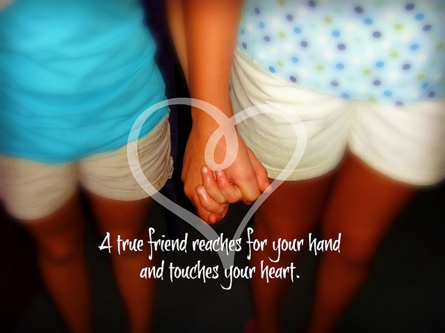"""Teacher bragging time! My kiddos took this pic as part of our """"photo of the day"""". I uploaded it to picmonkey and edited it and this is the result. A sweet photo that is going to make a great memory for these girls. -MTG   6:180 A True Friend by mrstg, via Flickr"""