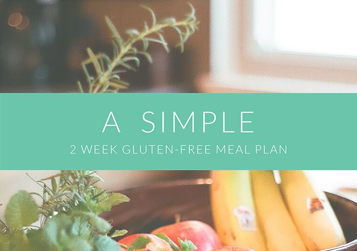 My free gluten-free 2-week meal plan! Download it via my blog.