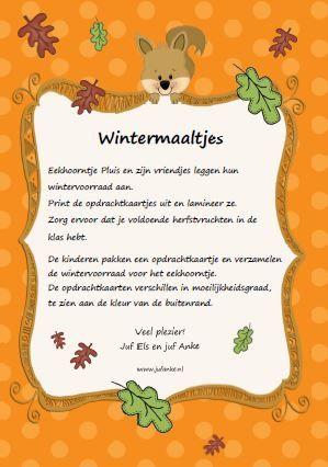 wintermaaltjes kleuters tellen