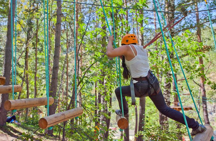 High Ropes Hen Party Packages