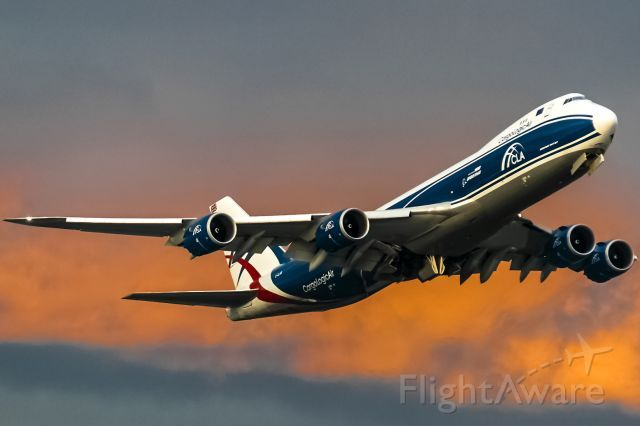 Boeing 747-8 (G-CLAB) at EDDF