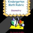 A printable kindergarten rubric or assessment tool for the Common Core State Standards in mathematics. This rubric is for the Geometry domain; the ...