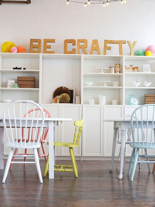 Fabulous Craft Workshops & Projects - http://www.decorationarch.com/creative-ideas/fabulous-craft-workshops-projects.html