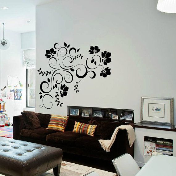 The 25+ best Flower wall decals ideas on Pinterest | Flower wall ...