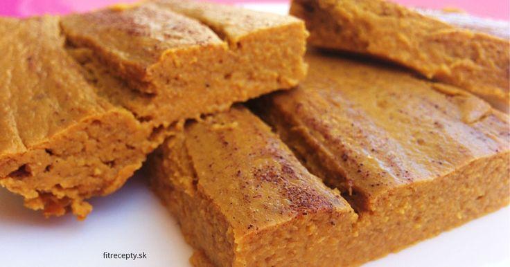 recept na Dýňový fit koláč bez mouky, cukru a tuku