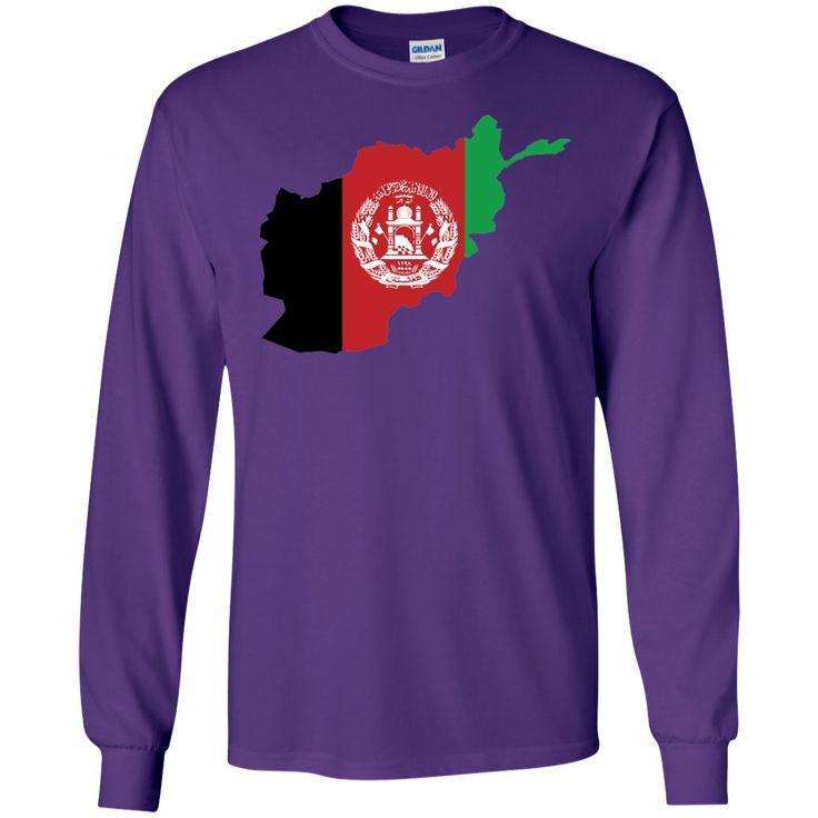 afghanistan flag -01 LS Ultra Cotton Tshirt