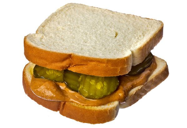Making a Meal Out of Peanut Butter and Pickles - NYTimes.com ***Effing PB & Pickles like my two favorite things together!!!!