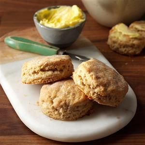 Sour Cream-Leek Biscuits Recipe -These biscuits are a wonderful pairing for soups. I've made them with all-purpose white flour as well as whole wheat, and both work equally well. —Bonnie Appleton, Canterbury, Connecticut