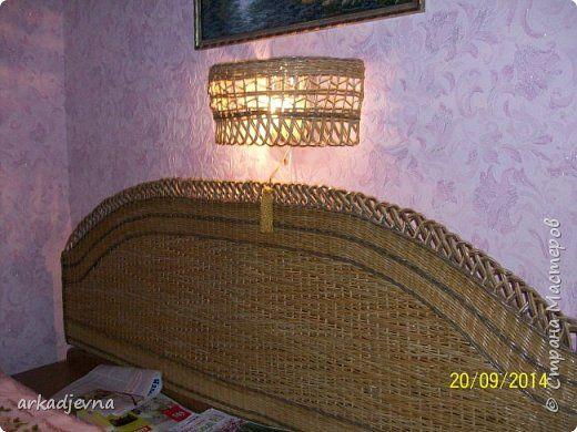 Плетение Плетенная СПАЛЬНЯ обещанные фото Бумага газетная Трубочки бумажные фото 3