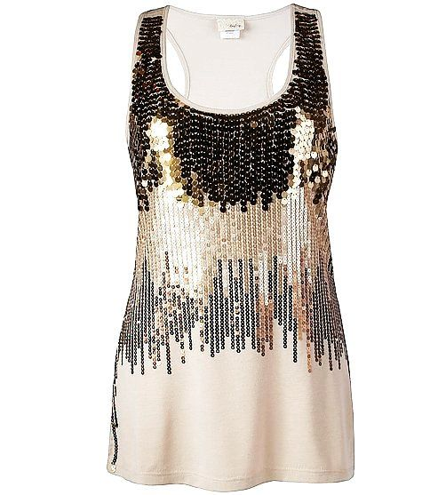 78  images about Gold Sequin Tank Top on Pinterest - ASOS- Glitter ...