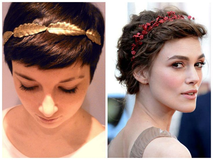 Awe Inspiring The 25 Best Ideas About Headbands For Short Hair On Pinterest Hairstyle Inspiration Daily Dogsangcom