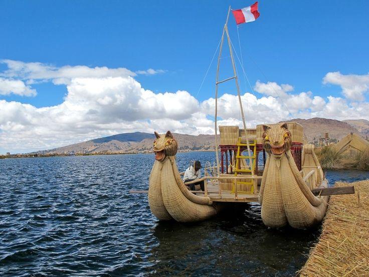 Плавающие острова племени Уру на озере Титикака - Путешествуем вместе
