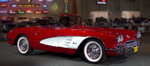 A 1960 Corvette cost less than $4,000 and was one of the most powerful cars of its time with 315 horsepower, according to Chevrolet.  Credit Chevrolet