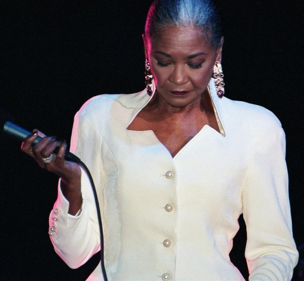 Regal and elegant Nancy Wilson
