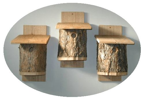 Free how to make a birdhouse out of a log guide to start for Log craft ideas