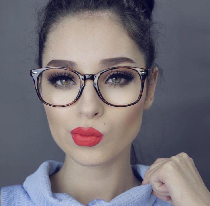 98 best Make up glasses images on Pinterest   Glasses, Eyeglasses ...
