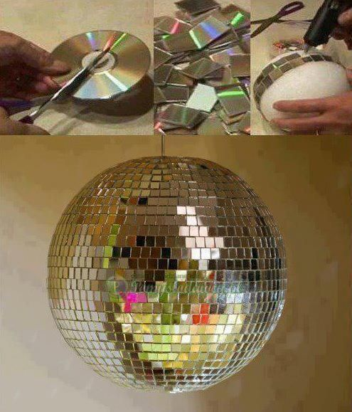 disco bal diy :D