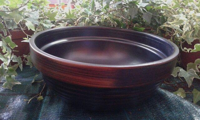 Cuenco negro cerámica