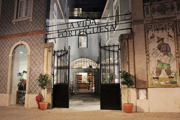 Loja 'A Vida Portuguesa' - (outside view) / Lisbon Store Of the Year 2013 by TimeOutLisboa