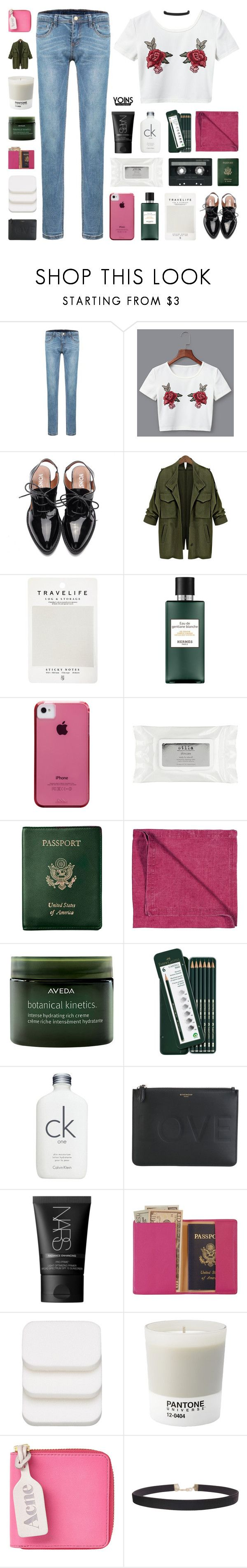 """I'd Rather Have Roses On My Table Than Diamonds Around My Neck - Yoins 4"" by paradiselemonade ❤ liked on Polyvore featuring Mark's Tokyo Edge, Hermès, Case-Mate, CASSETTE, Stila, Royce Leather, LINUM, Aveda, Faber-Castell and Calvin Klein"
