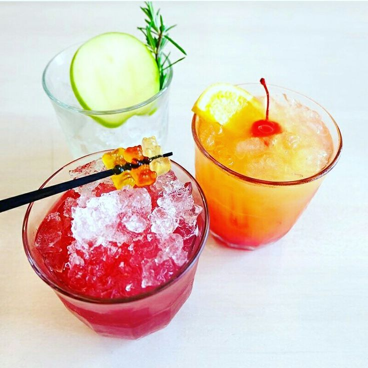 Cocktail Jelly bear, Sunset, Apple Pie