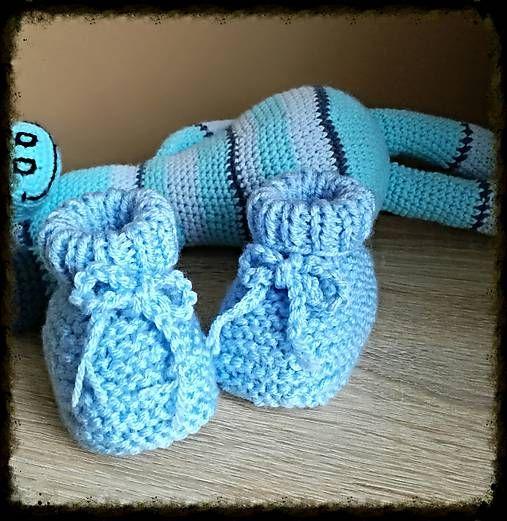 Pavlak / Papučky modré