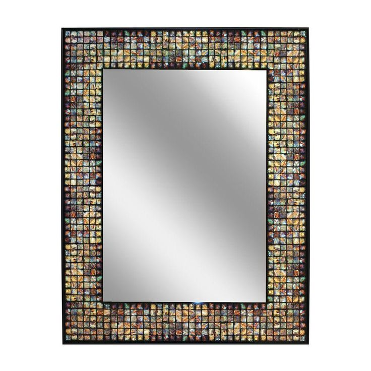 Learn how to create a similar mosaic tile mirror frame in our Do-It ...