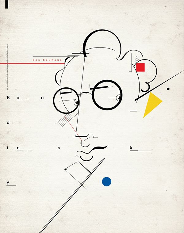 Kandinsky / Portrait on Behance                                                                                                                                                                                 More