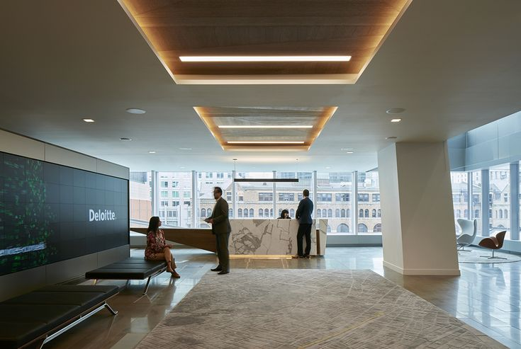 Inside deloitte s new elegant montreal office montreal and offices for Montreal interior design firms