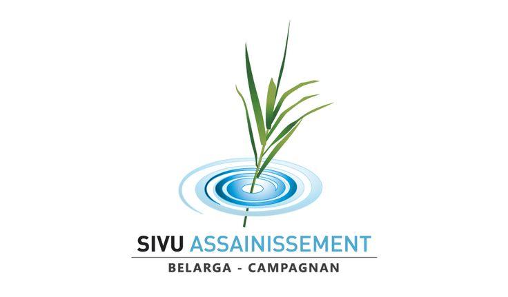 Logotype du Sivu Assainissement Belarga Campagnan © Pixfolio