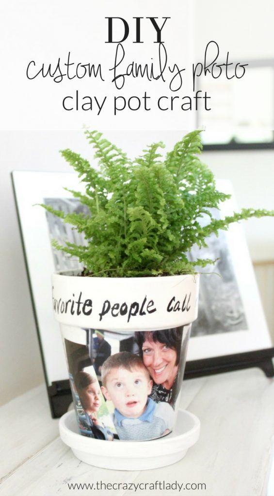 Photo Gift - Clay Pot Craft