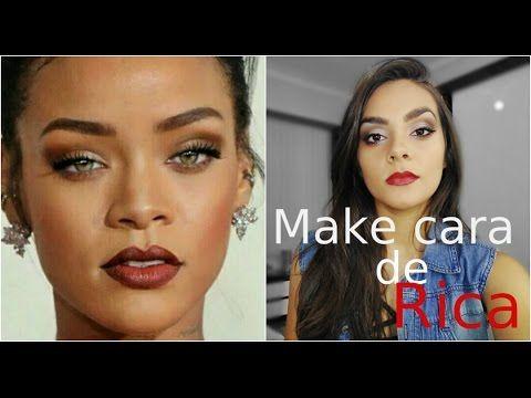 Inspire se: Rihanna | Maquiagem cara de Rica | #VEDA15