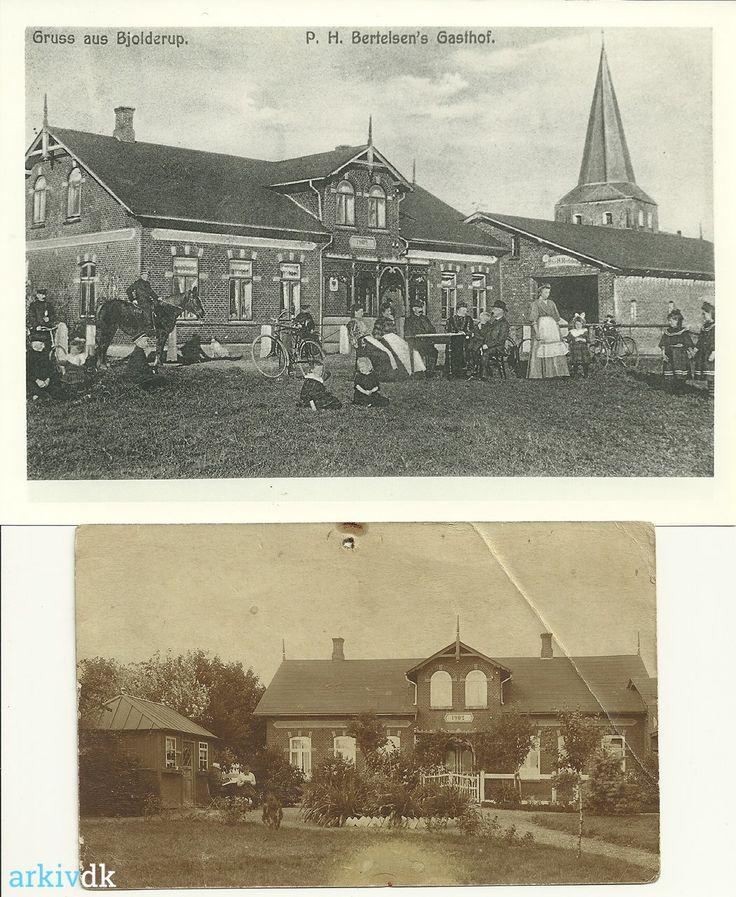 arkiv.dk | Bjolderupvej 70 Bjolderup kro, opført 1902