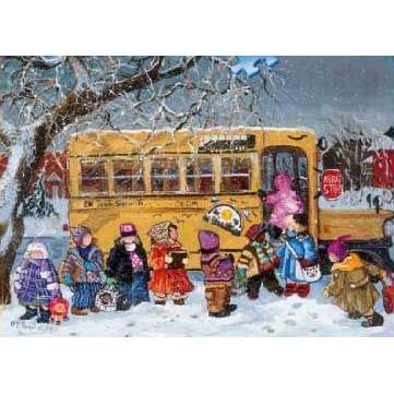 Ravensburger Pauline Paquin: Back to School (1000 pcs)