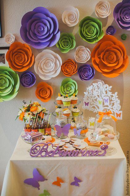 Купить Декор дня рождения - день рождения, детский праздник, праздничное украшение, колпачок