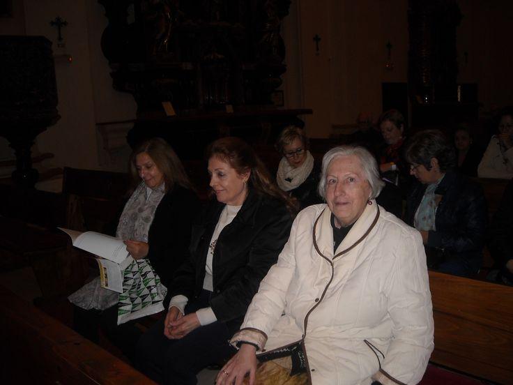 Misioneras  de la VP de Schoenstatt, en la iglesia de el Salvador y Santo Domingo de Córdoba (España) 2014 11 17