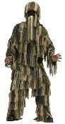 Boy's Costume Ghillie Camo Suit Camouflage Duck Hunter Child Costume