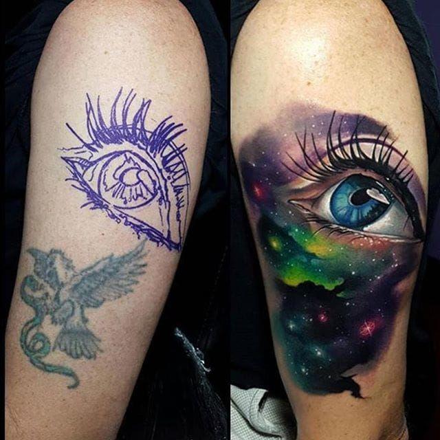 Tattoo Fix Ups: Upgrading Failed Or Faded Tattoos