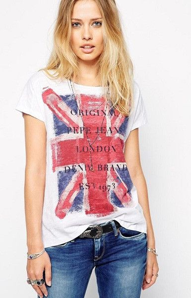Specifications: Item Type: Tops Tops Type: Tees Gender: Women Decoration: None Clothing Length: Regular Sleeve Style: Regular Pattern Type: Print Style: Casual Fabric Type: Broadcloth Material: Cotton