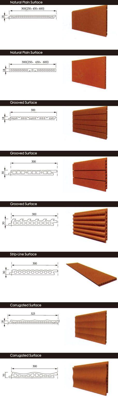 Terra Cotta panels:  special shape 1
