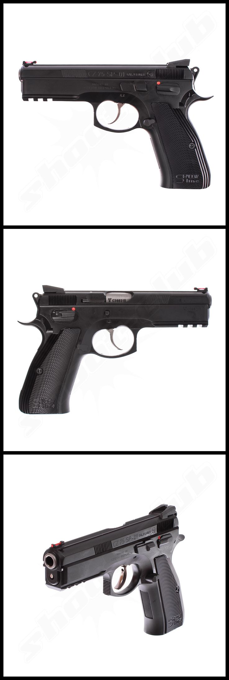 CZ 75 SP-01 Shadow Line, Pistole Kal. 9mm Luger    - weitere Informationen und Produkte findet Ihr auf www.shoot-club.de -    #shootclub #pistol #pistole #guns  #9mm