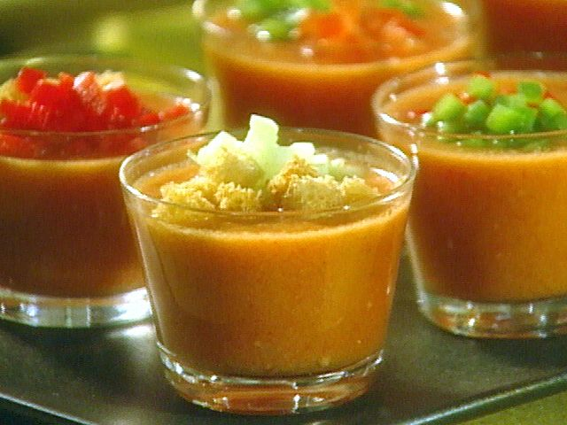 Gazpacho  - use a few tomatoes and something differentOlive Oil, Food Network, Gazpacho Recipe, Red Peppers, Gazpachoa Healthy, Belle Peppers, Summer Recipe, Summer Soup, Gazpacho Soup