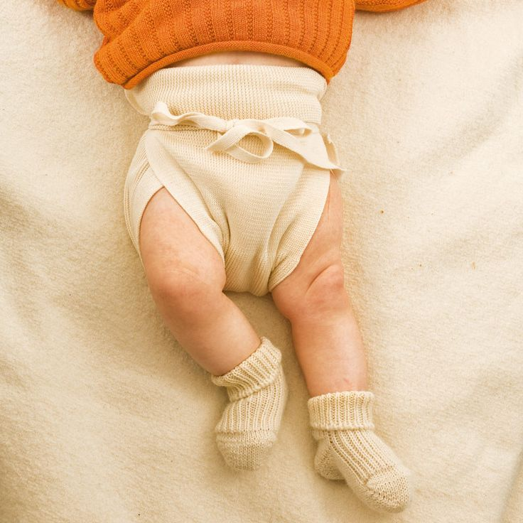 Tie-on Nappies Organic Cotton (3 pack) $24