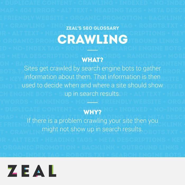 SEO Glossary: Crawling #SEO #Marketing