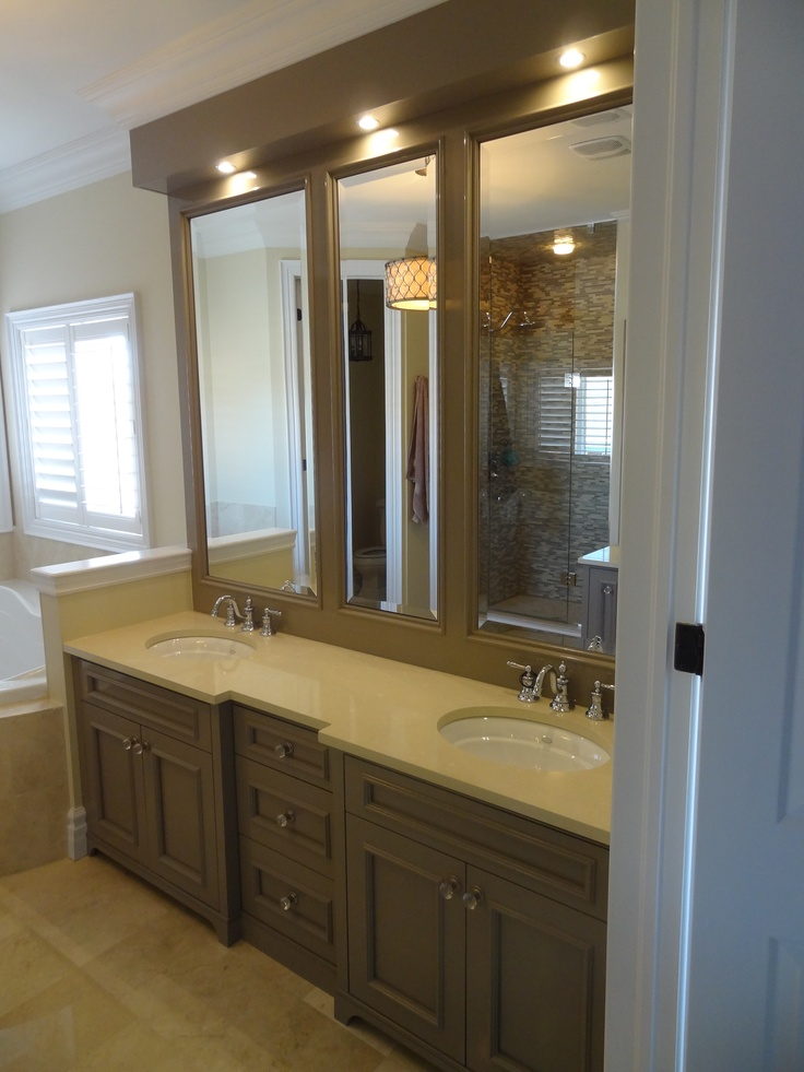 15 best images about master bathroom on pinterest for Master bath cabinets